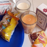 Zutaten für den Nuss Becherkuchen